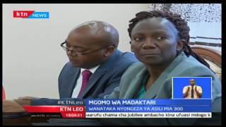 KTN LEO: Phyllis Kandie asema muungano wa madaktari yatarejelewa iwapo  KMPDU itatuma ujumbe