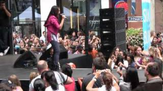 "Charice- ""Reset""  at Macy's Back to School Concert August 15, 2010"
