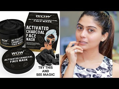 WOW ACTIVATED CHARCOAL FACE MASK HONEST REVIEW AND DEMO (LIVE RESULT)