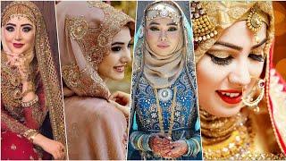 Bridal Hijab Styles | Bridal Look With Hijab | Muslim Wedding Ideas 2020 | Beautiful Hijabi Brides