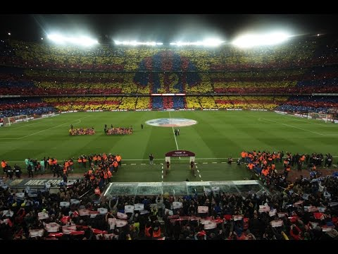 Mosaic FC Barcelona - Real Madrid CF