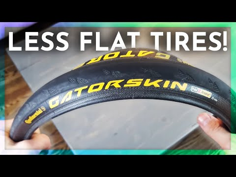 How To Avoid Flat Tires Cycling: Gatorskin Tires Review