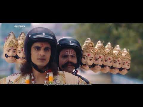 SUZUKI ACCESS 125 Ram And Raavan Film #KamPeetaHai