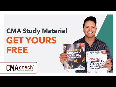 CMA Study Material - GET YOUR FREE TEXTBOOKS - YouTube
