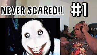 THE ULTIMATE TRY NOT TO GET SCARED CHALLENGE!! #1