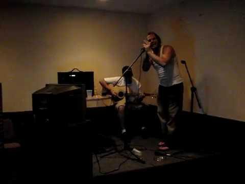 Jeff Hardy & JR Merrill's band Peroxwhy?gen live in Vass NC