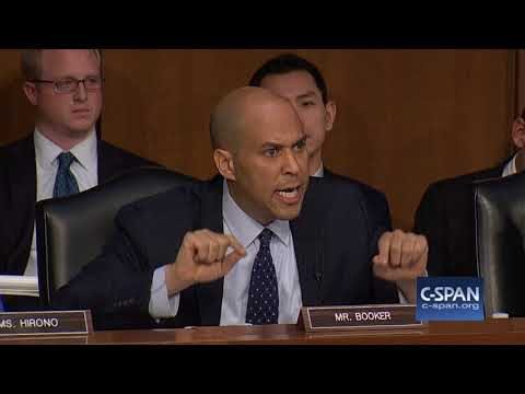 Sen. Booker on language used by Commander-in-chief (C-SPAN)