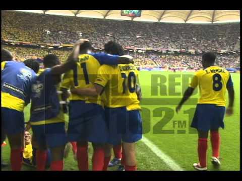 54 – Agustin Delgado: Ecuador v Costa Rica 2006 – 90 World Cup Minutes In 90 Days