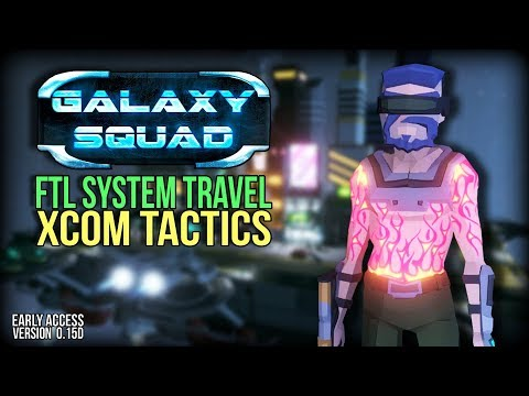FTL and XCOM Hybrid Game | Early Alpha Galaxy Squad Gameplay Review