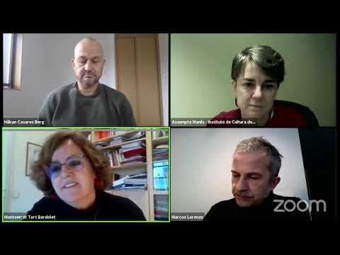 Debate en directo: Análise de datos culturais