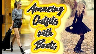 LEARN TO USE BOOTS IN YOUR SUPER FASHION OUTFITS, LAST TRENDS 🤍🖤💖
