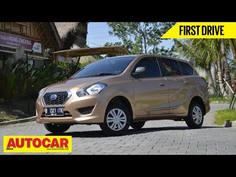 Datsun Go+ MPV | Exclusive First Drive Video Review