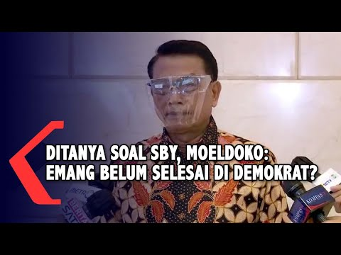 Tanggapi Pernyataan SBY, Moeldoko: Emang Belum Selesai di Demokrat?