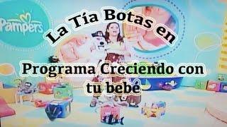 """Programa de Tv  """"Creciendo con tu bebé"""" - canción infantil"""