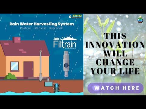 Rain Water Harvesting Filter