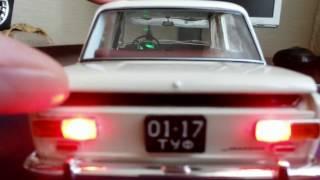 Действующая модель ВАЗ 2101 в масштабе 1:18