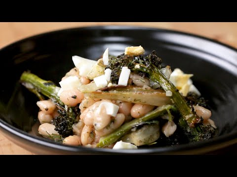 Roasted Veggie And White Bean Salad