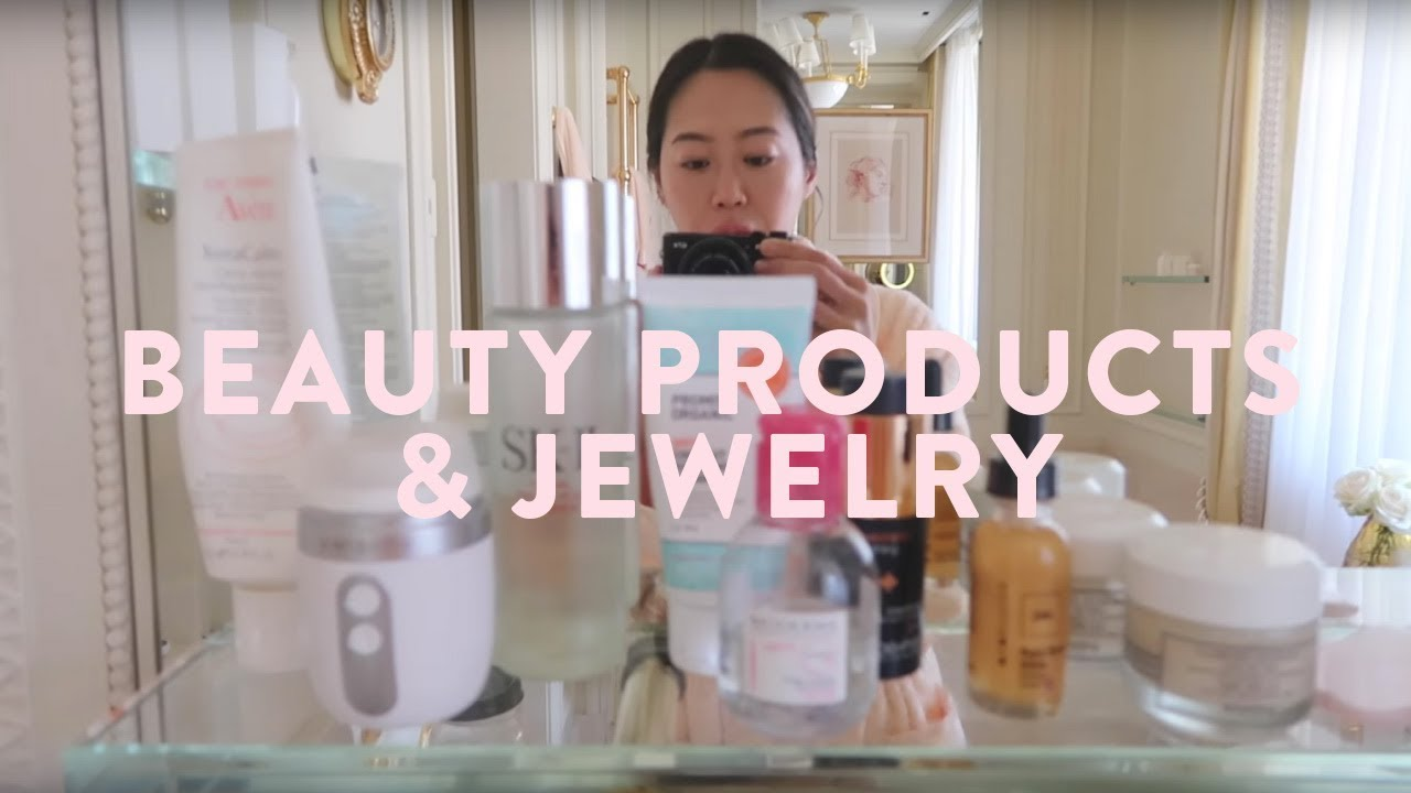 Beauty Products & Jewelry I Pack While Traveling | Aimee Song
