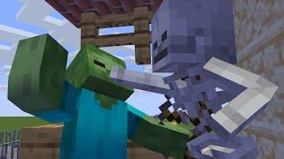 Zombie Life 2 - Minecraft Animation