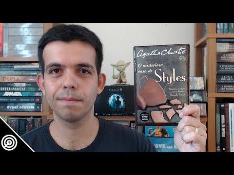 Resenha - O MISTERIOSO CASO DE STYLES - Leitura #162
