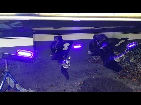 Montage von Ocean LED Xtreme Pro Series XP16 Unterwasserbeleuchtung