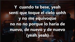 LETRA CUANDO TE BESÉ BECKY G FT PAULO LONDRA lyrics