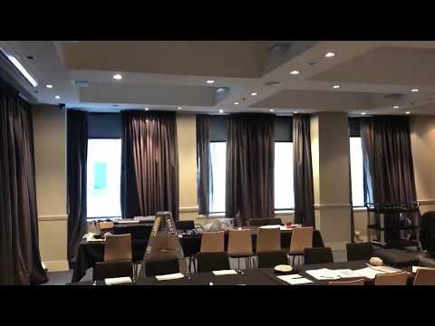 Screen Away installation at Como Hotel Melbourne using A-OK Motorisation