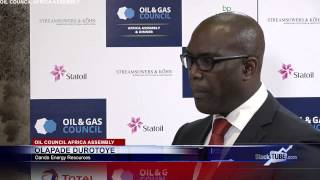Oando Energy Resources CEO Pade Durotoye at Oil Council 2015