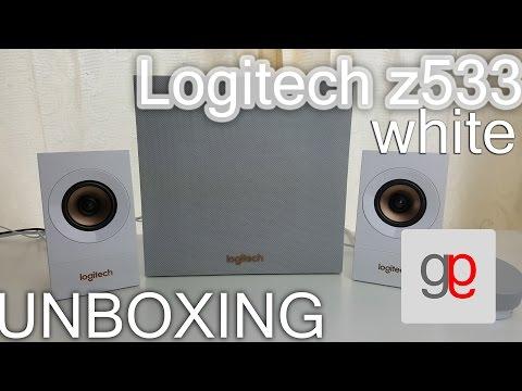 Z533 Logitech Lautsprecher deutsch unboxing