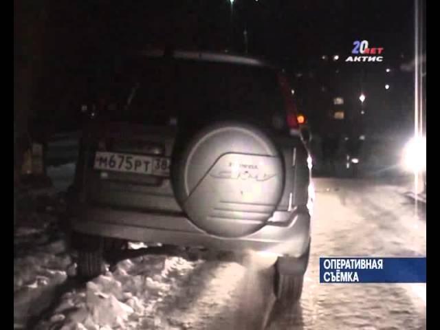 Подвыпившую даму останавливали три машины ГИБДД