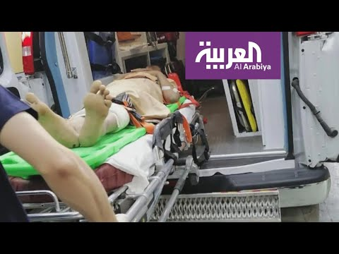 العرب اليوم - شاهد: وصول جرحى من محافظة الجوف اليمنية إلى مستشفيات السعودية