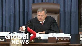 Trump impeachment trial: Day 4   LIVE