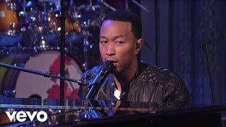 John Legend - Save Room (Live on Letterman)