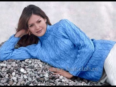 Джемперы Женские, Связанные Спицами - 2019 / Women's Sweaters Related spokes / Damen Pullover