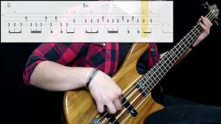 311 - Don't Stay Home (Bass Cover) (Play Along Tabs In Video)