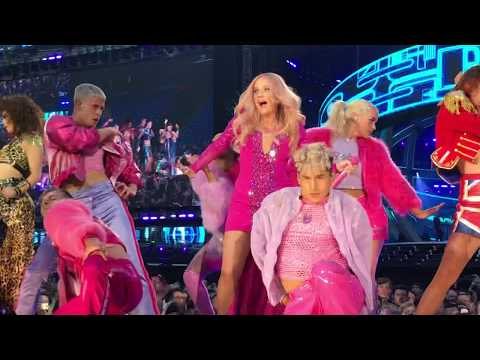Spice Girls - Spice Up Your Life Opening  Live at Manchester Etihad Stadium Spice World Tour 2019