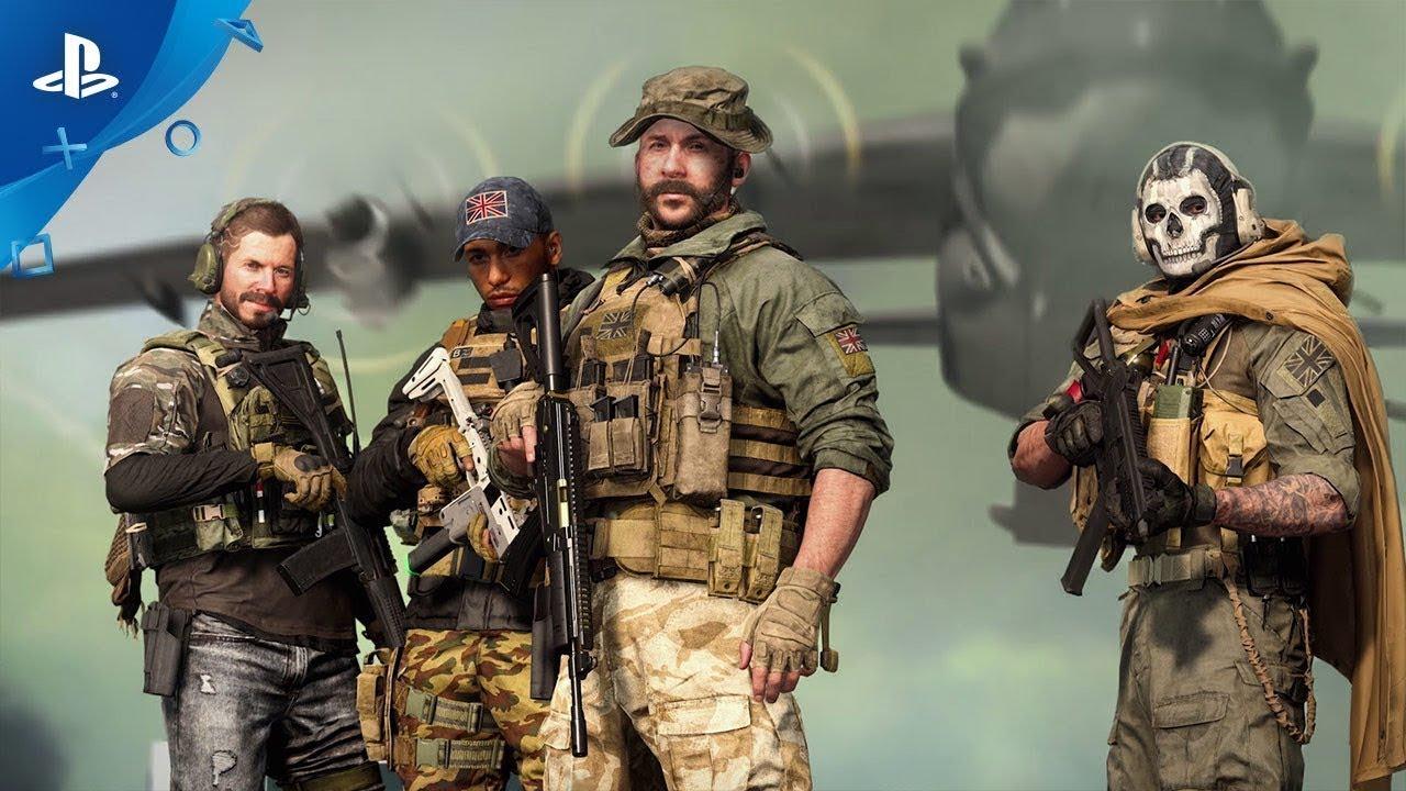La Saison quatre de Modern Warfare comporte du contenu PlayStation exclusif disponible dans Modern Warfare et Warzone