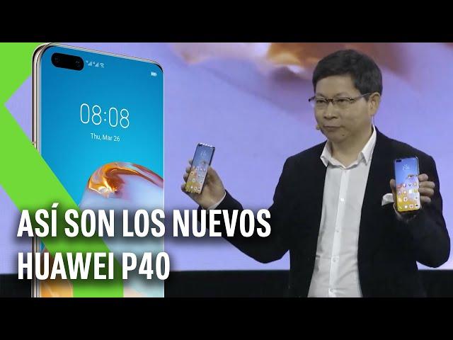 El EVENTO de HUAWEI en 4 MINUTOS: Así son los nuevos HUAWEI P40 | Xataka TV