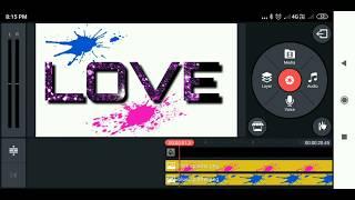 Kinemaster LOVE Text Editing Tutorial