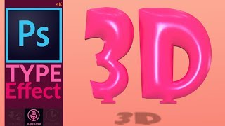How To Make 3D Balloon Text Effect In Adobe Photoshop
