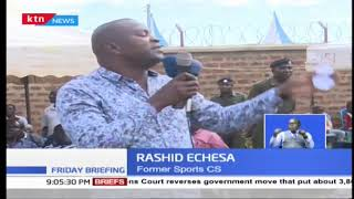 Out goes Echesa, In comes Amina Mohamed
