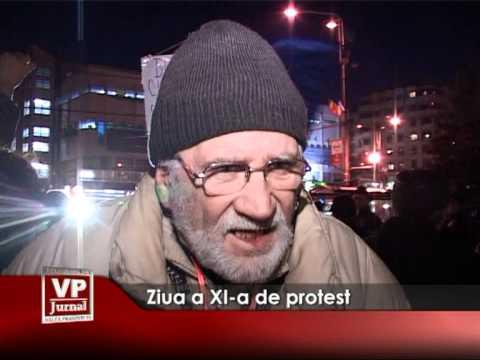 Ziua a XI-a de protest