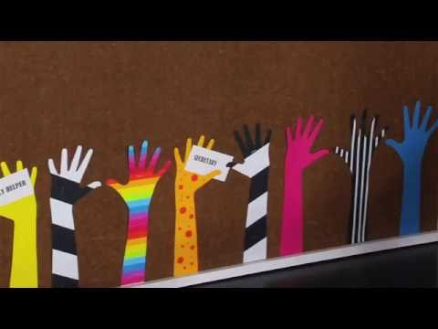 Ellison Education Video Series: Making Bulletin Board Reaching Arms with Sandi Genovese