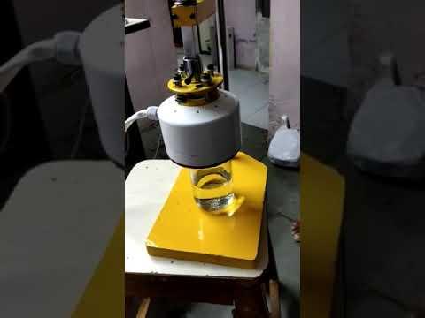 Glass Induction Sealing Machine