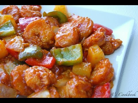 Video Sweet and Sour Shrimp Recipe