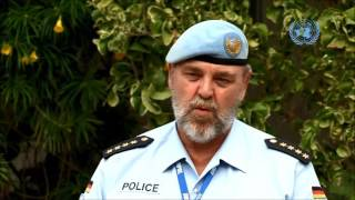 The policing mandate of UNSOM in Somalia