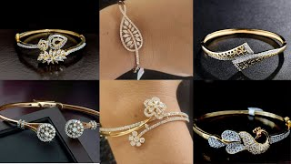Latest Gold Diamond Bracelet Designs For Women//Diamond Bracelet Collection