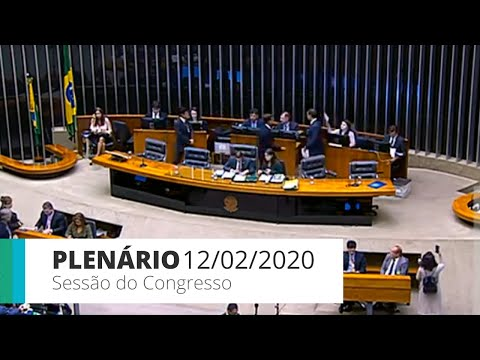 Sessão do Congresso - Veto 47/19 - Constituição de sociedade de garantia solidária - 12/02/20 -15:51