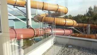 preview picture of video 'Aquadrom -Aquapark Ruda Śląska spacer po aquaparku'