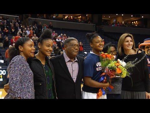 WOMEN'S BASKETBALL: Virginia Highlights vs. UNC